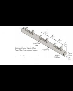 "Continuous Concrete Inserts FS12138NS - 1 5/8"" x 1 3/8"" - 12 Gauge W7353 to W7370 (10 Piece Pack)"