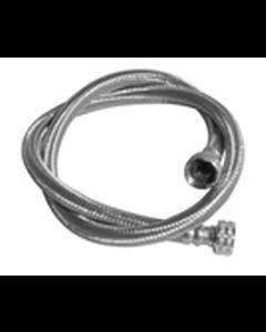 "UltraCore™ Polymer Braided Washing Machine Connector, for Front Load Washers - 1/2"" I.D. - 3/4"" F.G.H.T. x 3/4"" F.G.H.T."