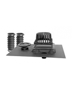 """4 1/2"""" Nylon Overflow Grate for Uni-Flex™ Roof Drain with Overflow"""