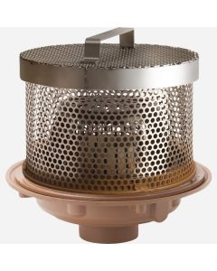 Smith 1937 Low Profile Perforated Dome Cover with Removable Lid
