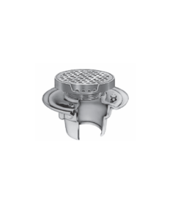Smith 2005 (-D) Floor Drain and Adjustable Strainer with Round Reinforced Grate