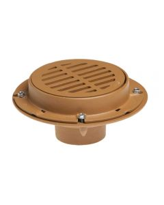 Smith 2110 Floor Drain with 8 1/2 Round Top