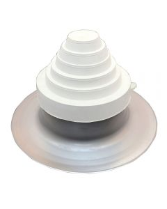 AlumiFlash #22065 Standard Base with C-126 White Cap