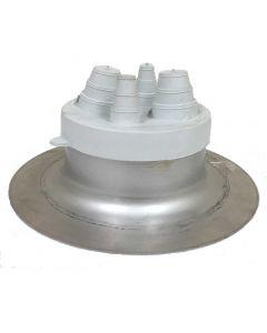 AlumiFlash #22075 Standard Base with C-212 White Cap
