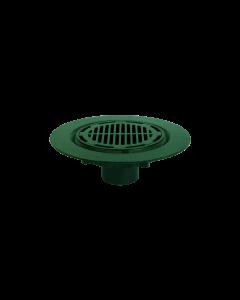 """Josam 24030 Roof Drain - Composition Deck Flange, 11-3/4"""" Cast Iron Grate & Membrane Clamp"""