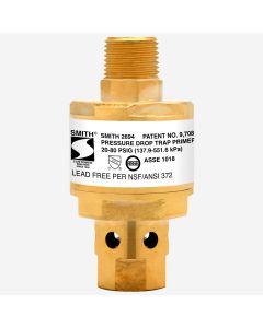 Smith 2694 Trap-Defender™ Pressure Drop-Activated Trap Seal Primer