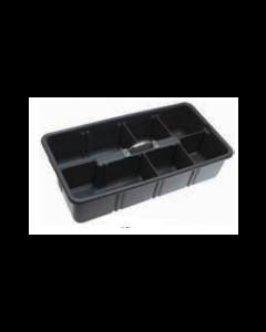 "T1075 Tote Tray / Organizer - 24"" x 12"" x 6"""