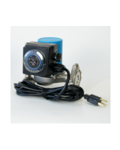 AquaMotion AM10-S3FV1LT1 Aqua-Ready™ Stainless Steel, Three Speed Water Circulator, 4 Bolt Flange with Cord & Timer