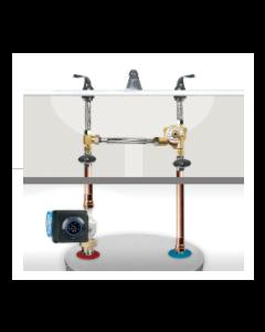 AquaMotion AMH1K-3UV Stainless Steel Aqua-Flash® Recirculation Kit for Hot Water Tanks