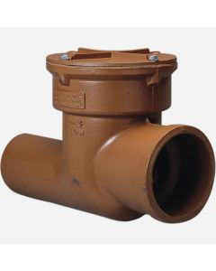 Smith 7012 Sewer Valve with Bolted Cover