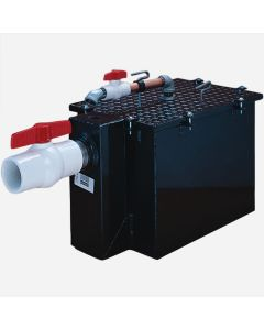 Smith 8007GT Steel Grease Interceptors With Semi-Automatic Draw-Off - 7 GPM Flow Rate - 2'' Inlet and Outlet Size