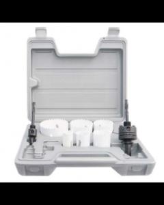 Mag-Bit 624 Bi-Metal Electrician's Hole Saw Kit