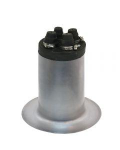AlumiFlash #24045 Extra Tall Base with C-481 Black Cap