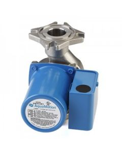 AquaMotion AM10-S3F1 Stainless Steel, Three Speed Water Circulator with 4 Bolt Flange