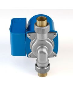 """AquaMotion AM6-SUCV1 Stainless Steel, Single Speed Water Circulator with 1/2"""" Sweat Union and 20 mm BICV™"""