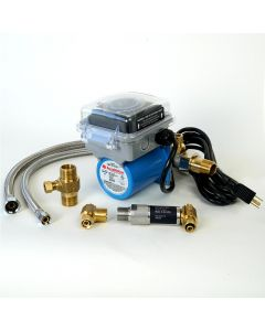 AquaMotion AMH1K-7ODRXZT1 Stainless Steel Aqua-Shield Outdoor Circulator Single Pipe Systems with Built-in Timer