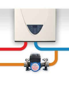 AquaMotion AMH2K-R Stainless Steel Recirculation Kit for Dedicated Return Line Systems with a Tankless Water Heater - With Timer