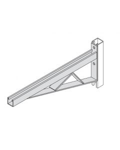 "BR45 - 3 1/4"" Channel Two-Hole Bracket Arms"