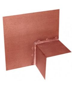 Copper Outside Corner Universal Stair Flashing