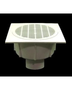 """3"""" Floor Sink With Secondary Strainer"""