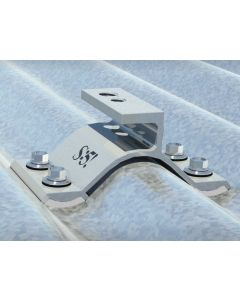 CorruBracket is the perfect match for S-5!'s ColorGard® snow retention system