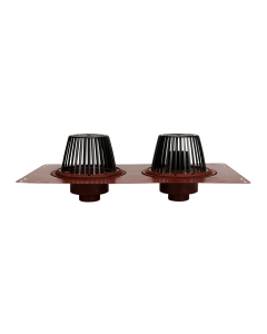 MIFAB R1270 Combined Large Sump Roof Drain and  Secondary Overflow