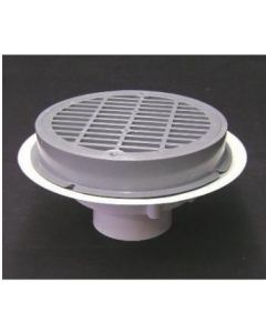 "3"" Over Pipe Fit Grate Floor Drain"