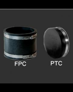 Flexible Reusable PVC Couplings & Test Caps - FPC