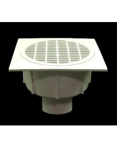 """2"""" Floor Sink With Secondary Strainer"""