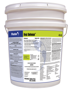 Foster® 40-80 First Defense® Disinfectant - Pallet of 36 Pails