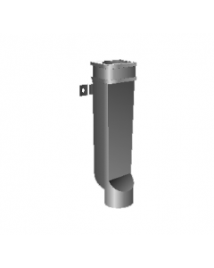 """MIFAB R1530 4"""" Round Downspout Boot"""