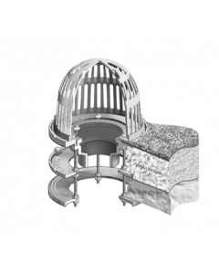 MIFAB R1100-EU Roof Drain for Insulated Roof Deck