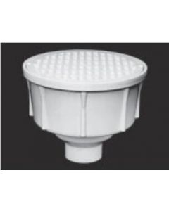 """3"""" Round Floor Sink With Secondary Strainer"""