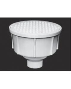 """4"""" Round Floor Sink With Secondary Strainer"""