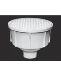 """2"""" Round Floor Sink With Secondary Strainer"""