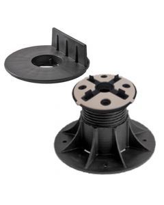 Eterno SE3 Adjustable Pedestal Support with Wood Joist Head for Wood Decking