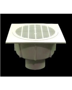 """4"""" Floor Sink With Secondary Strainer"""