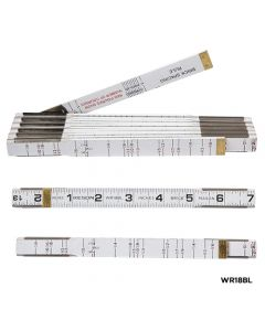 6' Wood Ruler Designed for Brick and Mason (Case of 10)