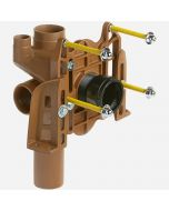 Smith 0240Y Vertical Fittings with Side Inlet for Siphon Jet Water Closets Shallow Rough-In Type