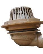 Smith 1340 Side Outlet Roof Drain