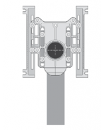 MIFAB MC-12 Vertical Adjustable Water Closet Carrier (For Siphon Jet and Blowout Toilets)