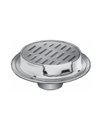 "Smith 2140 Heavy Duty Floor Drain with 12"" Round Top  with Tractor Grate"