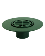 Josam 24020 Roof Drain - Composition Deck Flange & Super-Flo Grate