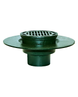 Josam 24040 Roof Drain - Composition Deck Flange and Super-Flo Grate