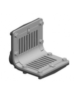 MIFAB R1320T Scupper Drain with Flat and 90 Degree Outlet