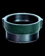 Josam 30304-W Floor Drain with Cast Iron Threaded Strainer Extension