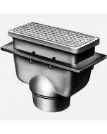 Smith 3471 Sani-Ceptor® Arc Floor and Indirect Waste Drains, Shallow, Deep Receptor, Arc Rectangular Non-Traffic Top