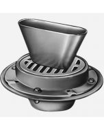 Smith 3760 Funnel-Ceptor Indirect Waste Drains Side Outlet, Round Top and Oval Funel