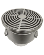 Josam 42630 Series Non-Adjustable Stainless Steel (304) Floor Drain