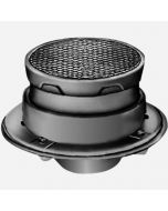 Smith 4313 Floor Cleanouts with Internal Closure Plug and Round Adjustable Cast Iron Top